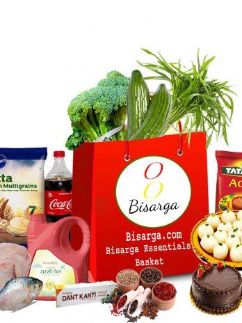 Bisarga Essentials Weekly Basket -Non-vege