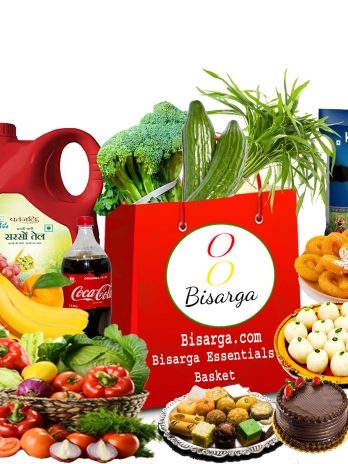 Bisarga Essentials Weekly Basket -Veg