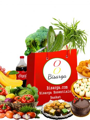 Bisarga Essentials Weekly Basket – Vegetable Basket & Bengali Rosogolla And Sweets – Bengali Grocery Online