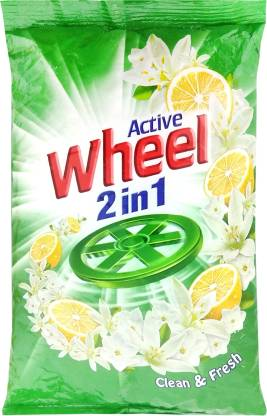 Wheel Active 2 in 1 Detergent Powder 1 kg – Grocery Franchise In West Bengal