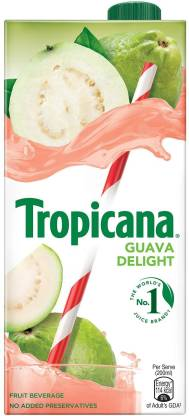 Tropicana Guava Delight Fruit Beverage (1 L) – Bisarga Online Supermarket India