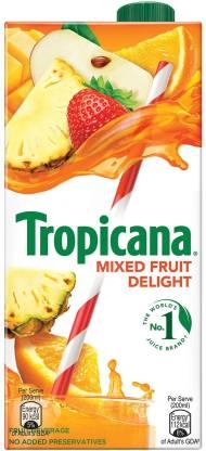 Tropicana Mixed Fruit Delight (1 L) – Bisarga Online Supermarket India