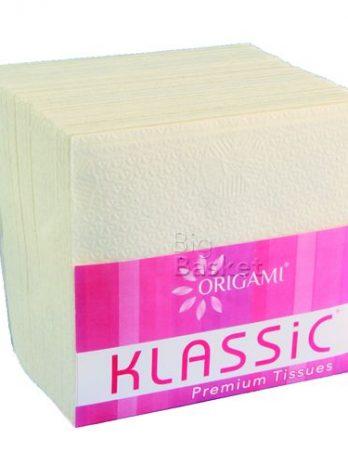 Origami Klassic Plain Cocktail Napkins (22 X 22 cm), 100 pcs – Bisarga Online Supermarket India