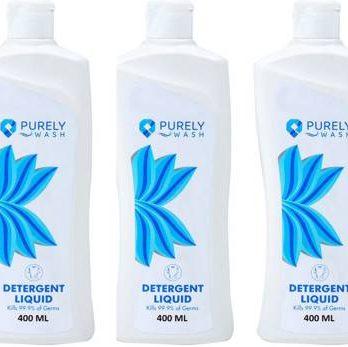 Purely Wash Pack Of 3 Liquid Detergent Safe Wash Front/Top Load Washing Machine Liquid Detergent Fresh Liquid Detergent Fresh Liquid Detergent – Bisarga Online Supermarket India