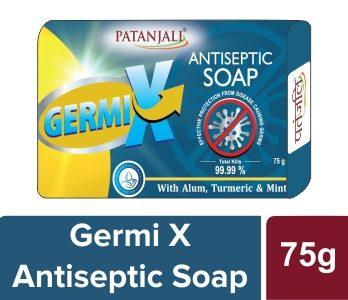 PATANJALI GERMI X ANTISEPTIC SOAP 75 GM