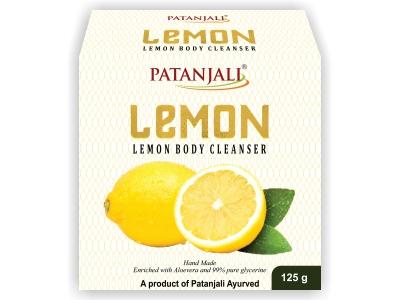 PATANJALI LEMON BODY CLEANSER 125 GM