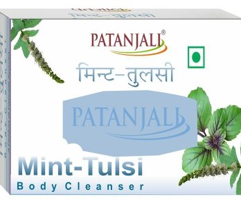 PATANJALI MINT TULSI BODY CLEANSER 75 GM