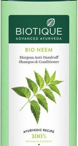 BIOTIQUE Bio Neem Margosa Anti – Dandruff Shampoo & Conditioner 180ml