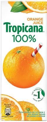 Tropicana 100% Orange Juice (200 ml) – Bisarga Online Supermarket India