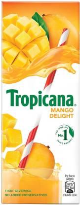 Tropicana Mango Delight Fruit Beverage (200 ml) – Bisarga Online Supermarket India