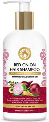 Mom & World Red Onion Hair Shampoo – With Redensyl And Natural DHT Blockers, For Strong, Thick And Lustrous Hair