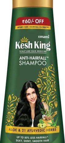 Kesh King Scalp and Hair Medicine Anti-hairfall Shampoo (340 ml)
