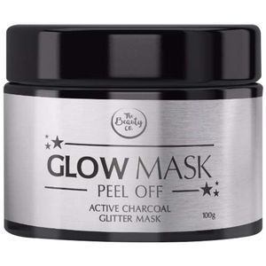 Glitter glow mask