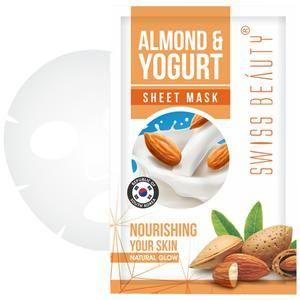 Sheet Mask-Almond Yogurt, Nourshing your Skin