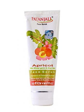 PATANJALI Aloevera Apricoat Scrub Tube 60 gm Skin care and Beauty Products