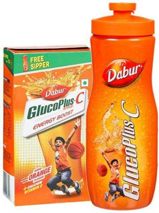 Dabur glucose c orange 500g Energy Drink (500 g, orange Flavored)
