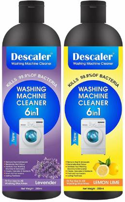 PRO99S Washing Machine Cleaner liquid Scale Remover Cleaning of Tub Drum Front Top Load (Descaling washing machine cleaning) Lavender Liquid Detergent (2 x 250 ml) – Bisarga Online Supermarket India