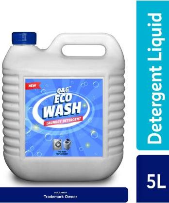O&G Liquid Detergent Suitable For Top Load and Front Load Washing, Detergent Liquid for Machine and Hand Wash Blossom Liquid Detergent (5000 ml) – Bisarga Online Supermarket In India