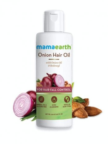 Mamaearth Onion Oil for Hair Growth & Hair Fall Control with Redensyl 150ml – Bisarga Online Supermarket India