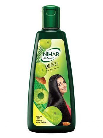 Nihar Shanti Amla and Badam Hair Oil, For Black, Silky and Stronger Hair,500 ml – Bisarga Online Supermarket India