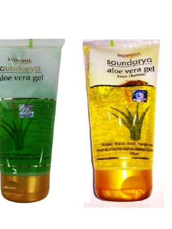 Patanjali Combo of Saundarya and Kesar Chandan Aloe Vera Gel, 150 ml Skin care and Beauty Products