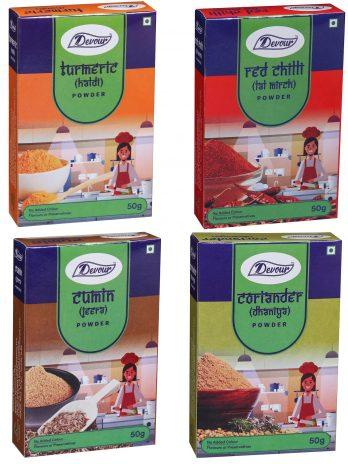 Devour Kitchen Spices Combo Pack-50g