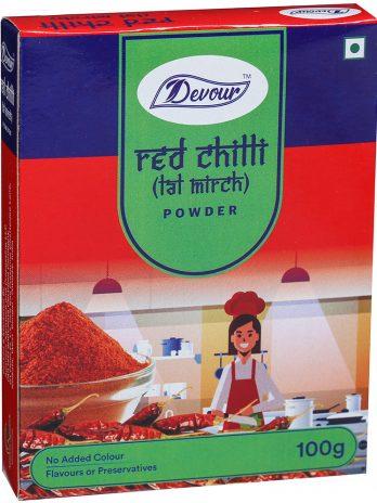 Devour Red Chilli (Lal Mirch) Powder-100g