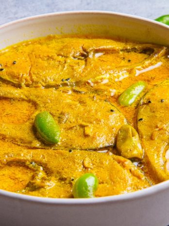 Sorshe Ilish 2 Pieces With Basmati Rice