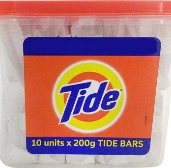 Tide Detergent Bar Soap, Value Pack 200 gms x 5 – Bisarga Online Supermarket India