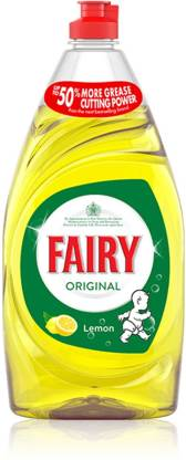 Fairy ORIGINAL WASHING UP LIQUID Dish Cleaning Gel (LEMON, 433) – Bisarga Online Supermarket In India