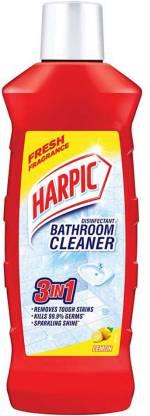 Harpic Disinfectant Bathroom Cleaner Liquid Lemon (1 L) – Bisarga Online Supermarket In India