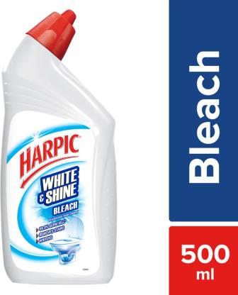 Harpic White & Shine Bleach Liquid Toilet Cleaner (500 ml) – Bisarga Online Supermarket India