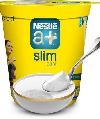 Nestle a+ Nourish Dahi Plain Curd (200 g) – Bisarga Online Supermarket India
