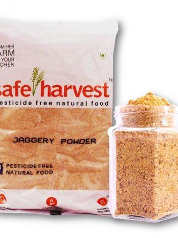 Safe Harvest Jaggery/Bellam Powder – Pesticide Free, 500 g