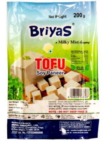 Briyas Tofu – Soya Paneer, 200 g