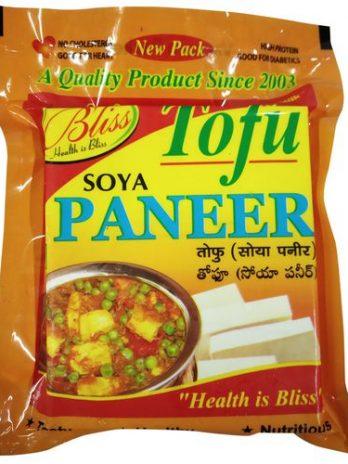 Bliss Tofu Soya Paneer – Rich In Calcium, 200 g