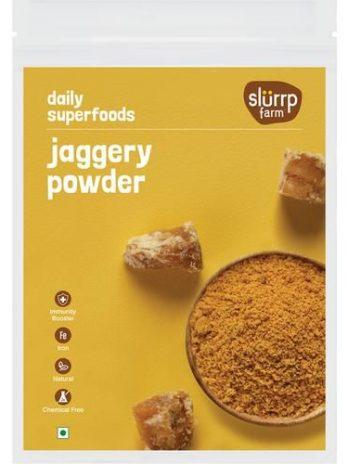 Slurrp Farm Natural Jaggery/Bellam Powder, 300 g
