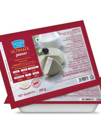 mother dairy Ultimate Paneer, 200 g