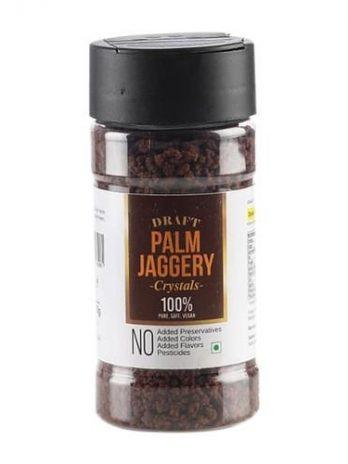 Draft Palm Jaggery/Bellam Crystals, 70 g Jar
