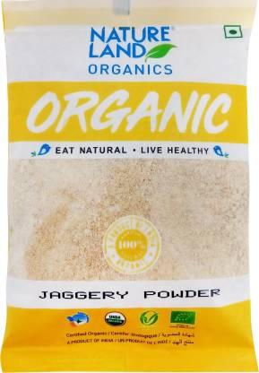 Natureland Organics Powder Jaggery  (500 g)