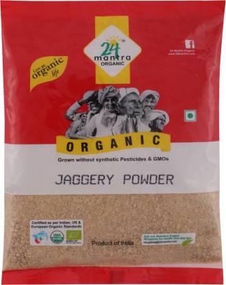 24 Mantra Organic Powder Jaggery  (450 g)